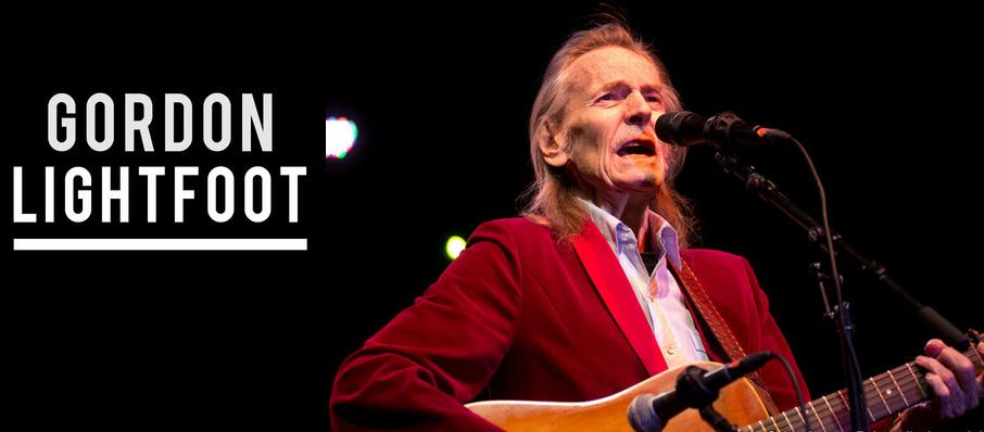 Gordon Lightfoot at Cobb Great Hall