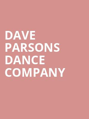 Dave Parsons Dance Company at Cobb Great Hall