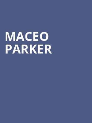 Maceo Parker at Cobb Great Hall