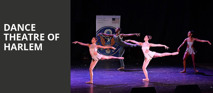Dance Theatre of Harlem, Cobb Great Hall, East Lansing
